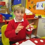 St George's Day at Woodland